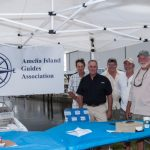 AIGA members at Amelia Island Redfish Spot Tournament registration table
