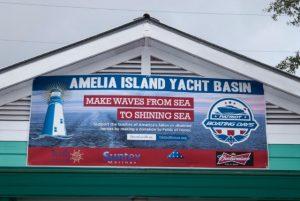 Amelia Island Redfish Spot Tournament Yatch Basin Banner