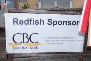 Amelia Island Redfish Spot Tournament CBC Sponsor Banner