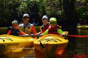 Kayaking at Fernandina Beach