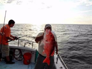 Snapper Fish caught off shore Amelia Island, FL