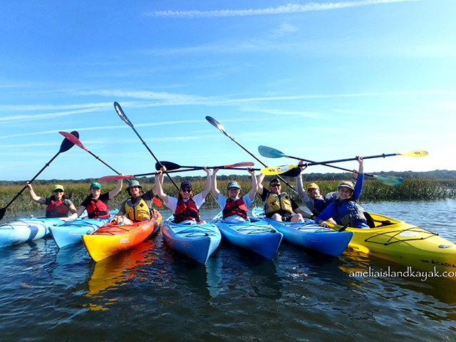 Amelia Island Kayak Excursions at Amelia Island